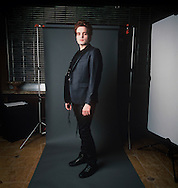 24th February 2011. Las Vegas, Nevada.  Celebrity Impersonators from around the globe were in Las Vegas for the 20th Annual Reel Awards Show. Pictured is Brandon Register-Watford as Robert Pattinson. Photo © John Chapple / www.johnchapple.com..