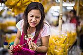 The Bangkok Flower Market
