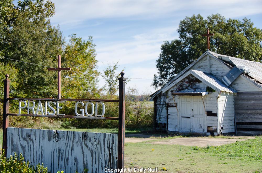 Praise God, No Trespassing