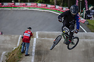 #927 (FOX Nick) NZL during round 4 of the 2017 UCI BMX  Supercross World Cup in Zolder, Belgium.