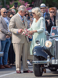 The Prince of Wales and the Duchess of Cornwall attend a British Classic Car event in Havana, Cuba, as part of an historic trip which celebrates cultural ties between the UK and the Communist state.
