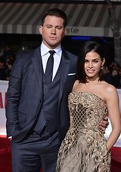 Channing Tatum and Jenna Dewan-Tatum attend Universal Pictures' 'Hail, Caesar!' premiere at Regency Village Theatre on February 1, 2016 in Los Angeles, California. Photo by Lionel Hahn/AbacaUsa.com