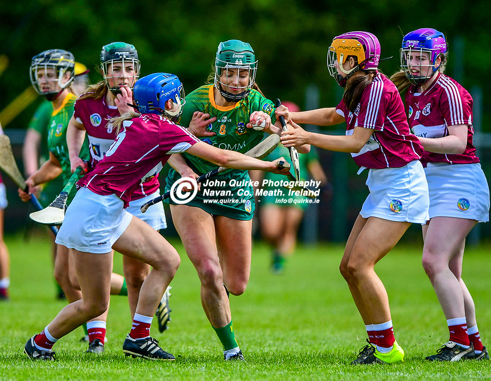 Kristina Troy, in action  for Meath,   during the Westmeath v Meath, Littlewoods Ireland, National League match in Kinnegad, County Westmeath.<br /> <br /> Photo: GERRY SHANAHAN-WWW.QUIRKE.IE<br /> <br /> 22-05-2021