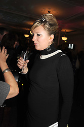 JESSICA FELLOWES at a party to celebrate the publication of 'Past Imperfect' by Julian Fellowes held at Cadogan Hall, 5 Sloane Terrace, London SW1 on 4th November 2008.