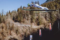 28.02.2021, Oberstdorf, GER, FIS Weltmeisterschaften Ski Nordisch, Oberstdorf 2021, Herren, Nordische Kombination, Skisprung HS 106, im Bild Mario Seidl (AUT) // Mario Seidl of Austria during ski Jumping HS 106 Competition of men Nordic combined of FIS Nordic Ski World Championships 2021. in Oberstdorf, Germany on 2021/02/28. EXPA Pictures © 2021, PhotoCredit: EXPA/ JFK