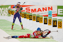 Andreja Mali of Slovenia during the Women 7,5 km Sprint of the e.on IBU Biathlon World Cup on Saturday, December 18, 2010 in Pokljuka, Slovenia. The fourth e.on IBU World Cup stage is taking place in Rudno polje - Pokljuka, Slovenia until Sunday December 19, 2010. (Photo By Vid Ponikvar / Sportida.com)