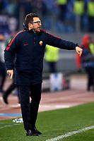 Eusebio Di Francesco Roma <br /> Roma 05-12-2017 Stadio Olimpico Uefa Champions League A 2017/2018 Group C AS Roma - Qarabag Foto Andrea Staccioli / Insidefoto