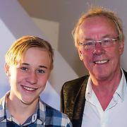 NLD/Amsterdam/20130826 - Nederlandse premiere film Borgman, Jack Spijerman en zoon