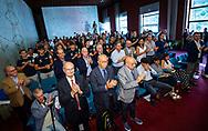 Platea<br /> Presentazione Campionato Italiano Pallanuoto 2019-2020<br /> Federazione Italiana Nuoto FIN<br /> Foro Italico Sala conferenze 03/10/2019<br /> Photo © Deepbluemedia