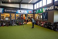 ROOSENDAAL - Golfcentrum Roosendaal, De Stok is een golfbaan ten westen van Roosendaal. De Stok is de thuisbaan van Golfvereniging De Stok. COPYRIGHT KOEN SUYK