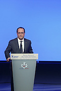 FRANCOIS HOLLAND CLOSING THE CONGRESS OF MAYORS OF FRANCE<br /> ©Exclusivepix Media