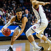 Mar 11 2019  Las Vegas, NV, U.S.A. San Diego Toreros guard Olin Carter III (3) looks to pass the ball during the NCAA  West Coast Conference Men's Basketball Tournament semi -final between the San Diego Toreros and the Saint Mary's Gaels 62-69 lost at Orleans Arena Las Vegas, NV.  Thurman James / CSM