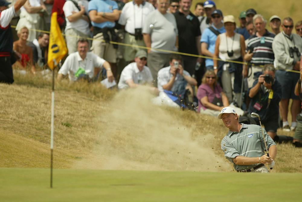 Ernie Els..2003 British Open..Second Round..Royal St. George's Golf Club..Sandwich, Kent, England..Friday, July 18  2003..photograph by Darren Carroll