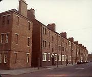 Old Dublin Amature Photos May 1984, With, St James Hospital, Rialto Gates, Church, Chemist, National School, Cottage, Bridge, Old Flats, Balconies,