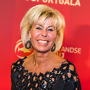 NLD/Amsterdam/20161221 - NOC*NSF Sportgala 2016, Margriet Zegers