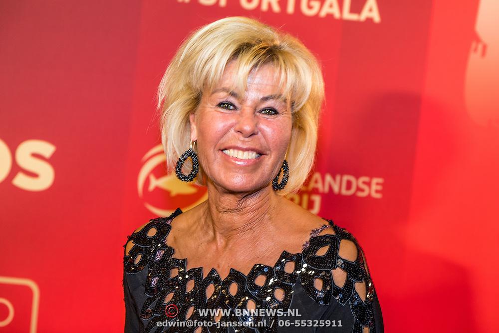 NLD/Amsterdam/20161221 - NOC*NSF Sportgala 2016, Margriet Zegers