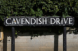 © Licensed to London News Pictures. 30/09/2016. Oxford, UK. Cavendish Road. A police hunt continues in Oxford for two men who abducted and raped a 14-year-old girl while she was on her way to school. The teenager was snatched and driven away from the Summertown area of Oxford at 8.25 on Wednesday morning. Photo credit: Peter Macdiarmid/LNP