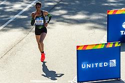 04-11-2018 USA: 2018 TCS NYC Marathon, New York<br /> Race day  TCS New York City Marathon / Mamitu Daska - 2:30:31, United States