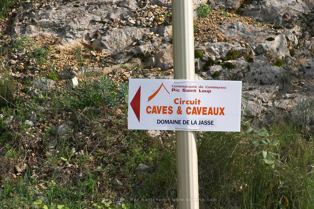 Domaine de la Jasse. Pic St Loup. Languedoc. France. Europe.