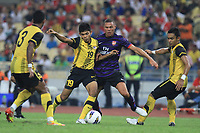 Kieran Gibbs of Arsenal in action during the friendly match against the Malaysia XI at the National Stadium Bukit Jalil, Kuala Lumpur. Malaysia