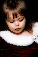 Our friends' daughter captured during the gift opening portion of Christmas day.