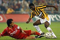 Fotball<br /> Nederland 2004/05<br /> AZ Alkmaar<br /> Jose Fortes Rodriquez <br /> Foto: Digitalsport<br /> NORWAY ONLY