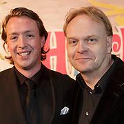 NLD/Amsterdam/20150201 - Premiere Heerlijk duurt het Langst, Frits Huffnagel en .....