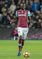 Football - 2016 / 2017 Premier League - West Ham United vs. Stoke City<br /> <br /> Cheikhou Kouyate of West Ham at The London Stadium.<br /> <br /> COLORSPORT/DANIEL BEARHAM