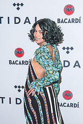 Princess Nokia attends TIDAL X: Brooklyn at Barclays Center of Brooklyn on October 17, 2017 in New York City. (Photo by Joe Russo / imageSPACE).