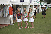 Rebecca Welman, Jenny Goodwin and Francesca Worsley. Veuve Clicquot Gold Cup 2006. Final day. 23 July 2006. ONE TIME USE ONLY - DO NOT ARCHIVE  © Copyright Photograph by Dafydd Jones 66 Stockwell Park Rd. London SW9 0DA Tel 020 7733 0108 www.dafjones.com
