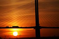 Danford DA UK  Traffic on the Queen Elizabeth II bridge<br /><br /><br /><br />Photo by Dennis Brack