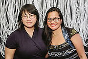 NEW YORK - March 27: Sweet Joy Hachuela and Chantal Yang at FOKAL's The Promise of Haiti II Event. Photographed March 27, 2015 at the Medici Group in NY, NY. 2015 © Cat Laine.