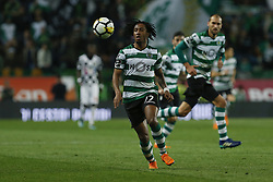 April 22, 2018 - Lisbon, Lisboa, Portugal - Sporting CP Midfielder Gelson Martins from Portugal during the Premier League 2017/18 match between Sporting CP and Boavista FC, at Alvalade Stadium in Lisbon on April 22, 2018. (Credit Image: © Dpi/NurPhoto via ZUMA Press)