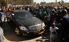 Queues of voters and Mugabe Voting - 29 July 2018