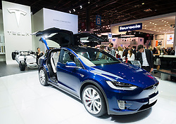Tesla Model X at Paris Motor Show 2016
