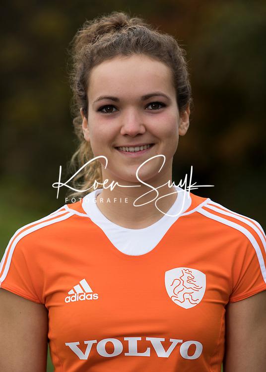 UTRECHT -  YENTL LEEMANS .Jong Oranje hockey meisjes -21. COPYRIGHT KOEN SUYK