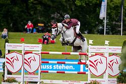 Sweetnam Shane, IRL, Indra van de Oude Heihoef<br /> Deutsches Spring- und Dressur Derby 2019<br /> © Hippo Foto - Dirk Caremans<br /> 30/05/2019