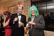 HUGO BURNAND, NICHOLAS COLERIDGE, Kate Reardon Tatler goodbye party. Penhouse, Claridges,London.. 13 December 2017