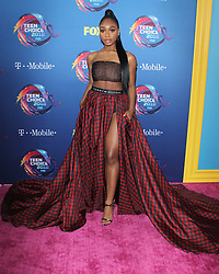 Rachel Bloom at the 2018 Teen Choice Awards held at The Forum on August 12, 2018 in Inglewood, Ca. © Meleah Loya/AFF-USA.COM. 12 Aug 2018 Pictured: Normani Hamilton. Photo credit: MEGA TheMegaAgency.com +1 888 505 6342