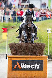 Alena Tseliapushkina, (BLR), Passat - Eventing Cross Country test- Alltech FEI World Equestrian Games™ 2014 - Normandy, France.<br /> © Hippo Foto Team - Leanjo de Koster<br /> 30/08/14