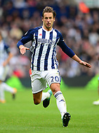 Grzegorz Krychowiak of West Bromwich Albion in action. Premier league match, West Bromwich Albion v West Ham United at the Hawthorns stadium in West Bromwich, Midlands on Saturday 16th September 2017. pic by Bradley Collyer, Andrew Orchard sports photography.