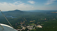 Flight in Lakes Biplane over Proctor Academy in Andover, NH