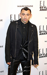 © Licensed to London News Pictures. 18/02/2014, UK. Nicola Formichetti,  ELLE Style Awards, One Embankment, London UK, 18 February 2014. Photo credit : Richard Goldschmidt/Piqtured/LNP
