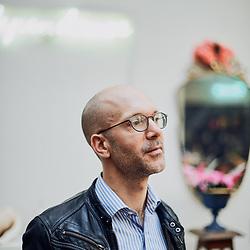 Nicolas Colin, entrepreneur and founder of TheFamily. Paris, France. September 27, 2018.<br /> Nicolas Colin, entrepreneur et fondateur de TheFamily. Paris, France. 27 Septembre 2018.