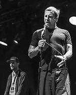 British electro-punk duo Sleaford Mods at Haldern Pop Festival