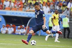 Japan's Maya Yoshida during the 2018 FIFA World Cup Russia game, Colombia vs Japan in Saransk Stadium, Saransk, Russia on June 19, 2018. Japan won 2-1. Photo by Henri Szwarc/ABACAPRESS.COM