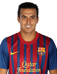 24.08.2011, Barcelona, ESP, FC Barcelona Fotocall, im Bild Portrait von Pedro Rodriguez, EXPA Pictures © 2011, PhotoCredit: EXPA/ Alterphotos/ ALFAQUI/ Gregorio