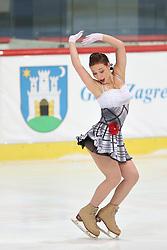 05.12.2015, Dom Sportova, Zagreb, CRO, ISU, Golden Spin of Zagreb, freies Programm, Damen, im Bild Alena Leonova. // during the 48th Golden Spin of Zagreb 2015 ladys Free Program of ISU at the Dom Sportova in Zagreb, Croatia on 2015/12/05. EXPA Pictures © 2015, PhotoCredit: EXPA/ Pixsell/ Davor Puklavec<br /> <br /> *****ATTENTION - for AUT, SLO, SUI, SWE, ITA, FRA only*****