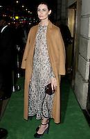 Erin O'Connor, A Green Carpet Challenge BAFTA Night To Remember, BAFTA Piccadilly, London UK, 18 September 2016, Photo by Brett D. Cove
