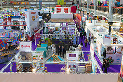 The Toy Fair at Kensington Olympia in London is the UK's largest dedicated game and hobby exhibition featuring the hottest and most anticipated products for the year ahead. London, January 22 2019.